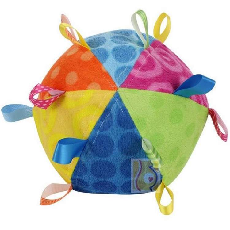 Mary Meyer Taggies Toss the Taggies Colors Chime Ball (Co...