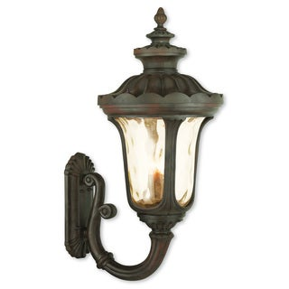 Livex Lighting Oxford Imperial Bronze Aluminum 4-light Outdoor Wall Lantern