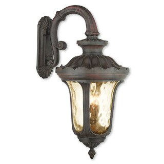 Livex Lighting Oxford Imperial Bronze 4-light Outdoor Wall Lantern