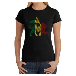 Women's One Love Rasta Lion T-shirt