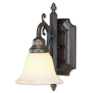 Livex Lighting French Regency 1-light Imperial Bronze Bath Light
