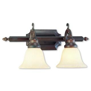 Livex Lighting French Regency Imperial Bronze 2-light Bath Light