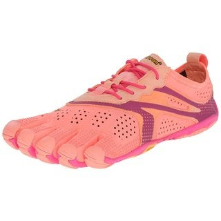 Vibram Fivefingers Pink/Red V-run Footwear