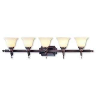 Livex Lighting French Regency 5-light Imperial Bronze Bath Light