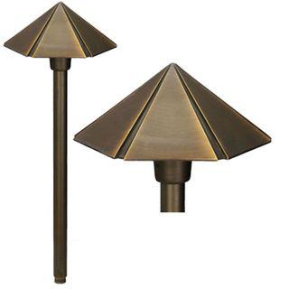 Best Quality Lighting 1-Light Antique Bronze Path Light