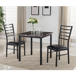 K&B Black Finish Dining Table