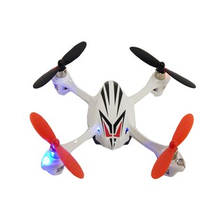 Hubsan X4 Black, Silver, White Plastic Mini Quadcopter Drone