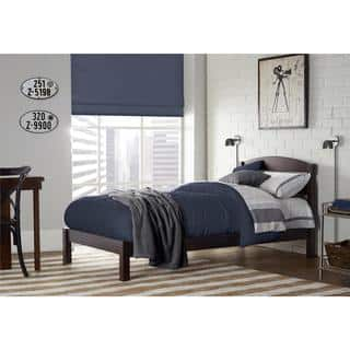 Shop Donato Ash Brown Twin Bed Free Shipping Today