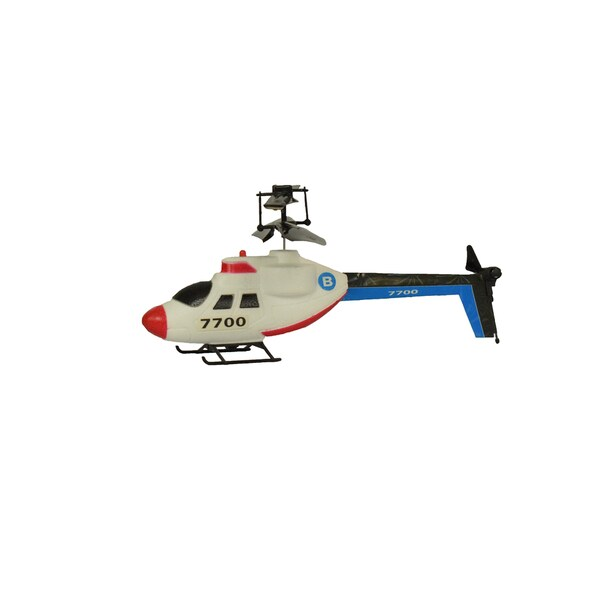 Raven Multicolored Polystyrene Infrared Remote Control Dragonfly Helicopter