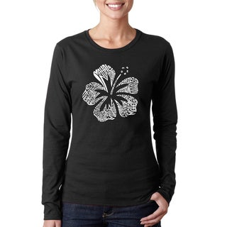 Women's Mahalo Cotton Long-sleeved T-shirt