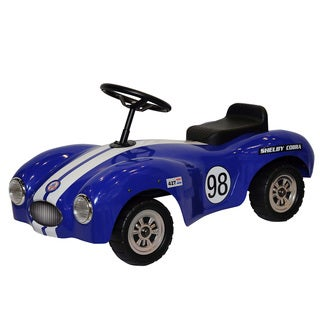 Shelby Cobra Blue Stainless Steel Foot-to-floor Car
