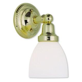 Livex Lighting Classic 1-light Polished Brass Bath Light