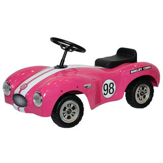 Shelby Cobra Pink Stainless Steel Foot to Floor Car