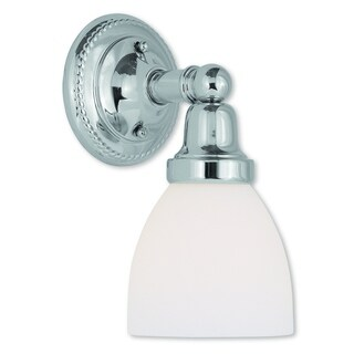 Livex Lighting Classic Polished Chrome 1-light Bath Light