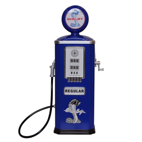Shelby Cobra Steel Gas Pump