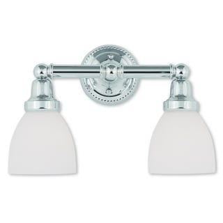 Livex Lighting Classic Polished Chrome 2-light Bath Light