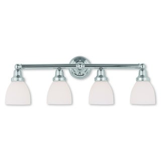 Livex Lighting Classic Polished Chrome 4-light Bath Light