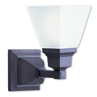 Livex Lighting Mission 1-light Bronze Bath Light