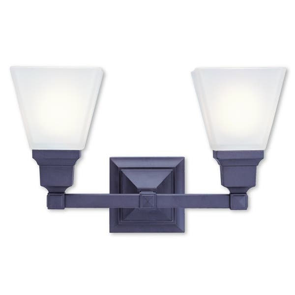 Livex Lighting Mission Bronze 2 Light Bath