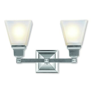 Livex Lighting Mission Brushed Nickel 2-light Bath Light