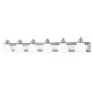 Livex Lighting Springfield Polished Chrome 6-light Bath Light