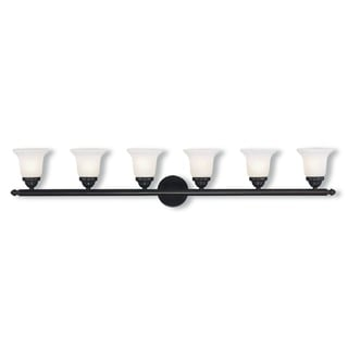 Livex Lighting Neptune Bronze Steel 6-light Bath Light