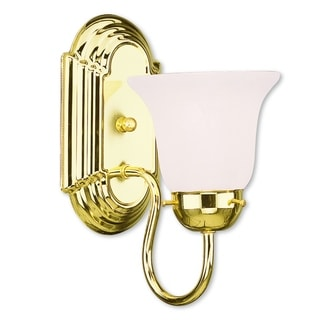 Livex Lighting Riviera 1-light Polished Brass Bath Light