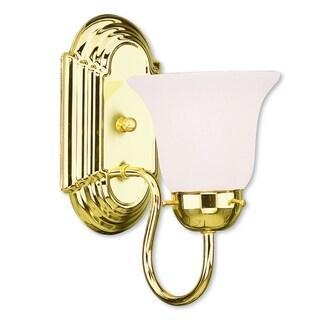 Livex Lighting Riviera 1-light Polished Brass Bath Light