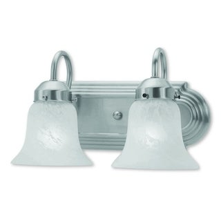 Livex Lighting Riviera Brushed Nickel Two--light Bath Light
