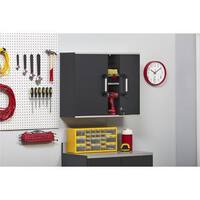 Altra SystemBuild Boss Steel Grey Wall Cabinet