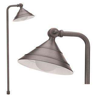 Best Quality Lighting 1-Light Antique Bronze Path Light - Brown