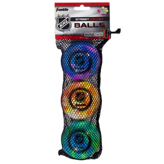 Franklin Sports NHL Extreme Color High Density Balls (Pack of 3)