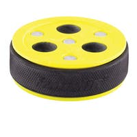 Franklin Sports NHL Yellow Rubber Roll-A-Puck x 3