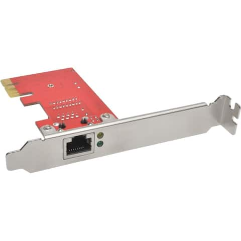 Tripp Lite 1-Port Gigabit Ethernet (GbE) PCI Express (PCIe) Card, Full Profile