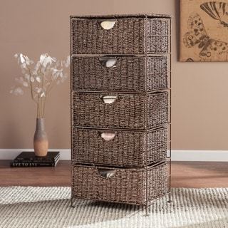 Harper Blvd Kerry Seagrass 5-Drawer Storage Tower