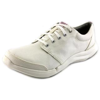 Teva Women's 'Wander Lace' White Cotton Canvas Athletic Shoes