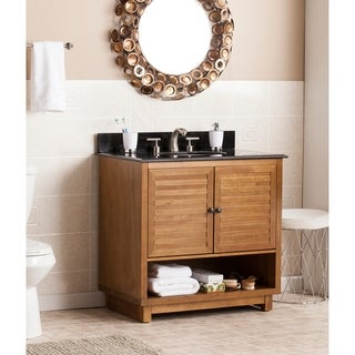 Harper Blvd Laird Granite Top Bath Vanity Sink