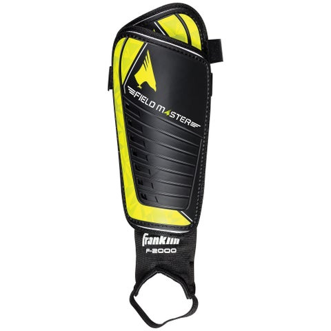 Franklin Sports Field Master Plastic Small Shin Guard