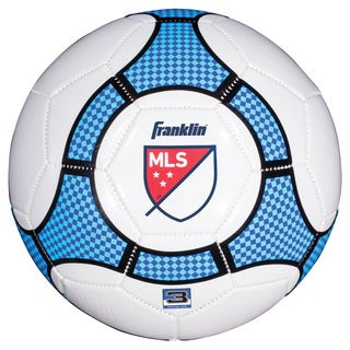 Franklin Sports MLS White Plastic Pro Trainer Soccer Ball