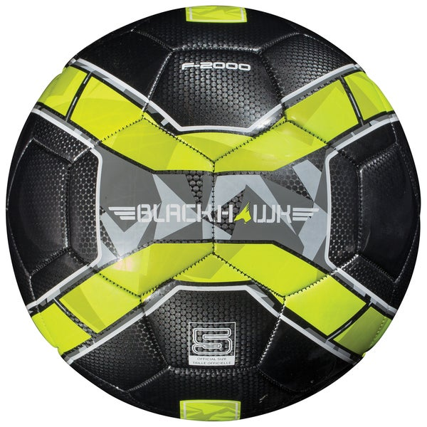 Franklin Sports Blackhawk Plastic Size 5 Soccer Ball