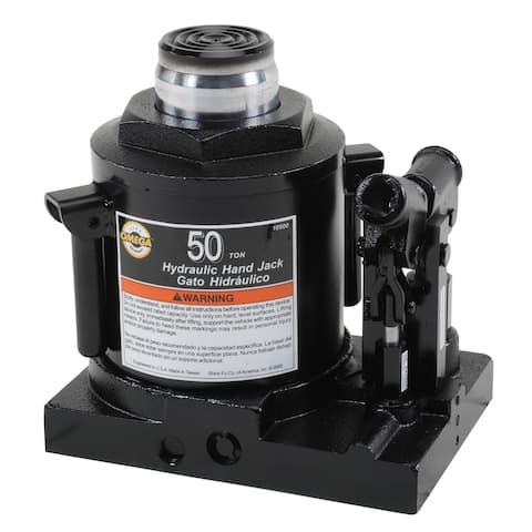 Omega 10300 Black 30-ton Hydraulic Side Pump Bottle Jack