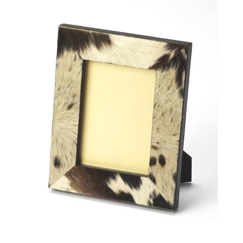 Butler San Angelo Hair On Hide Rectangular Picture Frame - MultiColor