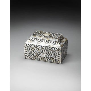 Butler Mother Of Pearl Storage Box