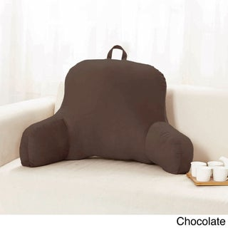 Sweet Home Collection Multicolored Polyester 20-inch x 31-inch x 14-inch Plush Bed Rest Pillow (Option: Chocolate)