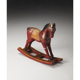Butler Marwari Painted Wood Rocking Horse