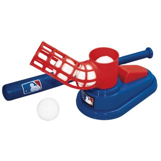 Franklin Sports Blue/Red/White ABS MLB Pop a Pitch