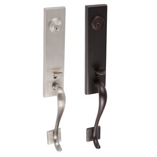 Sure-Loc Brass and Steel Solitude Front Entry Handleset (5 options available)