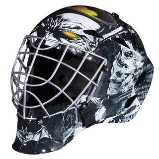 Franklin Sports GFM 1500 Batman Superman Goalie Face Mask