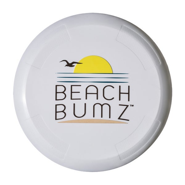Franklin Sports Beach Bumz White Plastic Flying Discs