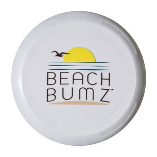 Franklin Sports Beach Bumz White Plastic Flying Discs